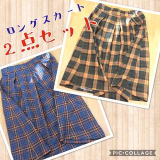 シュカ(shuca)の【まとめ売り】shuca 色違いロングスカートセット(ロングスカート)