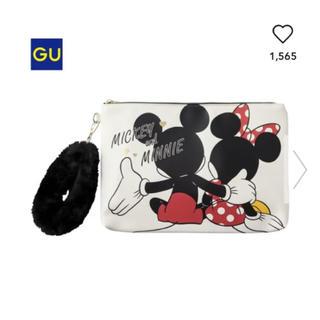 ジーユー(GU)のGU  ディズニークラッチバッグ(クラッチバッグ)