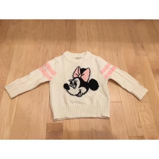 ディズニー(Disney)のディズニーランド minnie あったかセーター ♡ サイズ90 ♡(ニット)