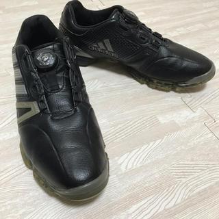 アディダス(adidas)のアディダスゴルフシューズ26.5 美品(シューズ)