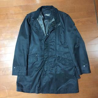 リーガル(REGAL)の秀ちゃん2様用 リーガル ビジネスコート LL ブラック 黒 REGAL(ステンカラーコート)