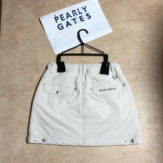 パーリーゲイツ(PEARLY GATES)のパーリーゲイツ☆中綿入りスカート☆サイズ0(ウエア)