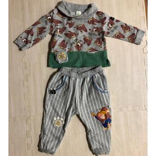 アカチャンホンポ(アカチャンホンポ)のズートピア子供服上下80(トレーナー)