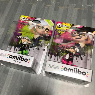 ニンテンドースイッチ(Nintendo Switch)のamiibo スプラトゥーン 2個セット アオリ ホタル(ゲームキャラクター)