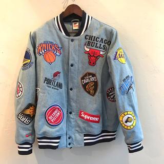 シュプリーム(Supreme)のSupreme x NIKE x NBA Warm-Up Jacket(スタジャン)