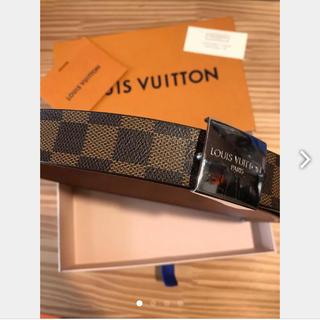 ルイヴィトン(LOUIS VUITTON)のルイヴィトン 正規品 ダミエエブヌ サンチュール ベルト 美品(ベルト)
