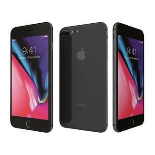 US製 シムFree iPhone 8 Plus 256GB グレー 新品同様(スマートフォン本体)