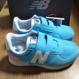 ニューバランス(New Balance)のニューバランス220 新品 水色×薄ピンク 18cm(スニーカー)