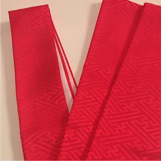 正絹 重ね襟  ローズピンク 半襟(和装小物)