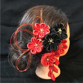 つまみ細工・髪飾り・かんざし・成人式・結婚式(ヘアアクセサリー)