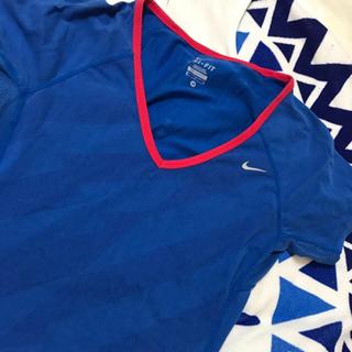 NIKE - 定価4000 ナイキ ブルー Tシャツ サッカー ランニング