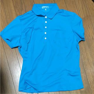ナイキ(NIKE)のナイキ ポロシャツ 水色(ポロシャツ)