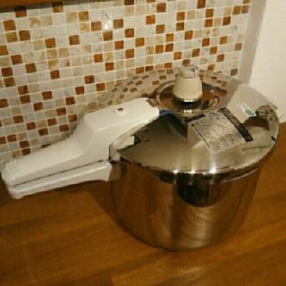 アサヒケイキンゾク(アサヒ軽金属)の5.5リットル  活力鍋 Lサイズ(鍋/フライパン)