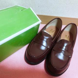 ブラウン ローファー 23.5(ローファー/革靴)