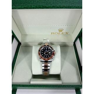ロレックス(ROLEX)のロレックス メンズファッション GM-II  自動巻き 腕時計(金属ベルト)
