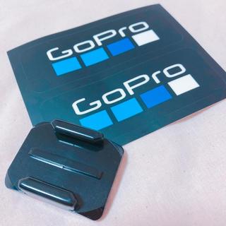 ゴープロ(GoPro)のgopro ベースマウント & ステッカーセット(その他)