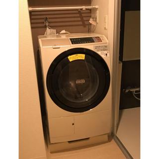 ヒタチ(日立)のヒートリサイクル 風アイロン ビッグドラム スリム BD-SV110AL(洗濯機)