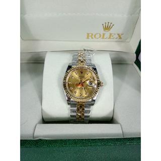 ロレックス(ROLEX)のロレックス 金 メンズファッション 腕時計 自動巻き カレンダー(金属ベルト)
