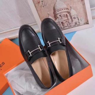 エルメス(Hermes)のHERMESレディース靴 (ローファー/革靴)