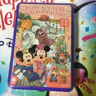 ディズニー(Disney)のディズニーお正月 アソーデットチョコレート缶(菓子/デザート)
