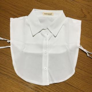 付け襟 シンプルホワイト(つけ襟)