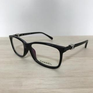 CHANEL - シャネル メガネフレーム ブラック ココ