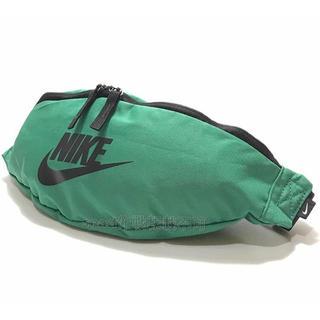 ナイキ(NIKE)の【新品】NIKE ヘリテージ ウエストポーチ ボディバッグ グリーン 緑(ウエストポーチ)