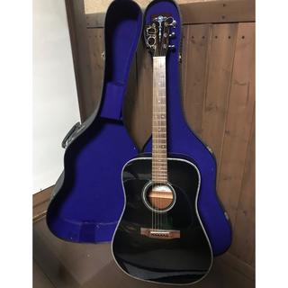 Aria. ADW-300. ブラックバースト(アコースティックギター)