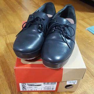 カンペール(CAMPER)のCAMPER カンペール 厚底レースアップシューズ(ローファー/革靴)