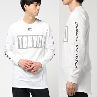 ナイキ(NIKE)の美品❗️NIKE ナイキ インターナショナル TOKYO トップ ロンT XL(Tシャツ/カットソー(七分/長袖))
