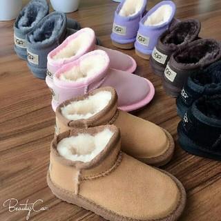 アグ(UGG)のUGG  子供の雪靴 (長靴/レインシューズ)