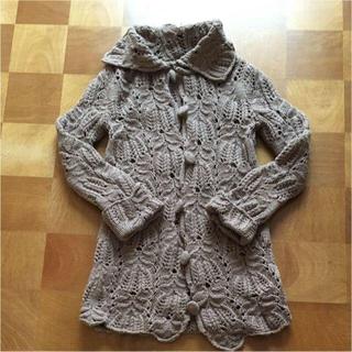 アクセンチュアル(ACCENTUAL)のアクセンチュアル  手編み風 ロングカーディガン(カーディガン)