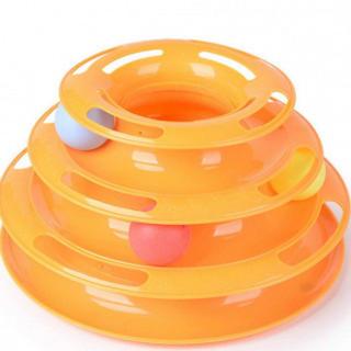 ネコも満足♪ 90 ペット おもちゃ 運動不足 ストレス 解消 オレンジ 遊ぶ盤