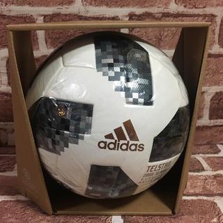 アディダス(adidas)の新品未使用 アディダス テルスター18 公式試合球 AF5300 5号 ホワイト(ボール)
