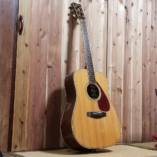 ヤマハ(ヤマハ)のYAMAHA アコースティックギターDW-8 トップ単板!(アコースティックギター)