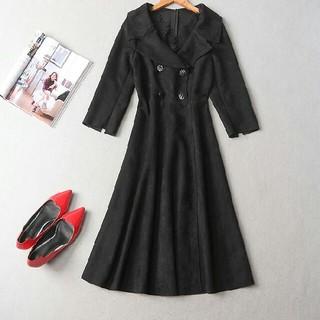 ドレス 女性 スウェット カワイイ L 黒(その他ドレス)