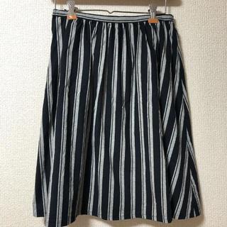 ナチュラルビューティーベーシック(NATURAL BEAUTY BASIC)のナチュラルビューティーベーシック 膝下スカート(ひざ丈スカート)