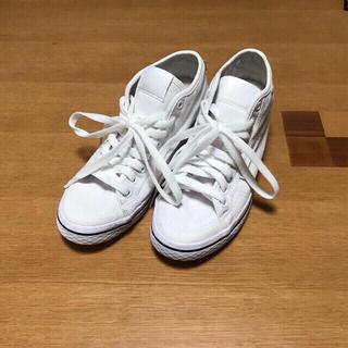 アディダス(adidas)のadidas  ハイカットスニーカー23.5(インソール4.5)(スニーカー)