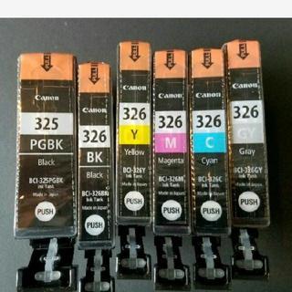 Canon - キャノン canon 純正インクBCI-326+325/6MP 6色パック相当E
