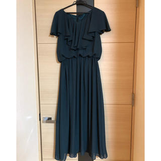 Kana   フレアロングワンピースドレス  L(ロングワンピース/マキシワンピース)