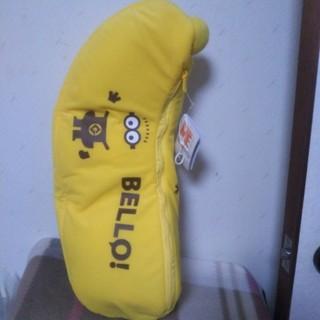 新品、未使用。ミニオン スペシャル バナナぬいぐるみ