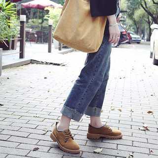 【ラクマ最安値挑戦】オックスフォードシューズ  厚底  韓国 ローカット (ローファー/革靴)