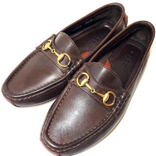 グッチ(Gucci)の【GUCCI】★良品★グッチ ビットローファー 36.5サイズ 23.0cm相当(ローファー/革靴)