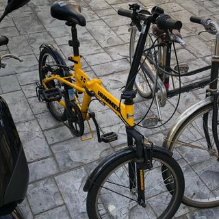 ハマー(HUMMER)のハマー 折り畳み自転車(自転車本体)