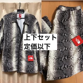シュプリーム(Supreme)のsupreme north face snake jacket pantsセット(ナイロンジャケット)