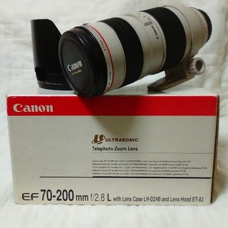 Canon EF70-200mm F2.8 L 美品