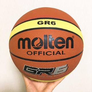 モルテン(molten)のmolten(モルテン) バスケットボール ゴム6号 BGR6MY(バスケットボール)