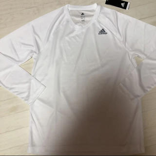 アディダス(adidas)の新品 アディダス adidas ロングTシャツ(Tシャツ/カットソー(七分/長袖))