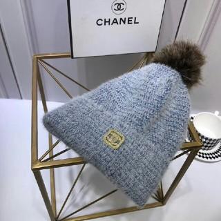 CHANEL - シャネルニット帽