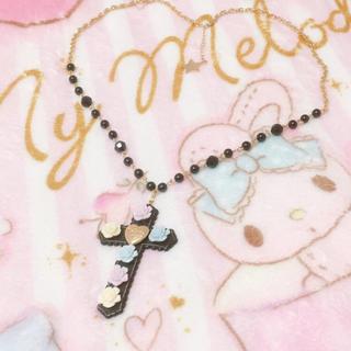 アンジェリックプリティー(Angelic Pretty)のAngelic Pretty♡Milky Crossネックレス(ネックレス)